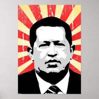 Hugo Chavez Print