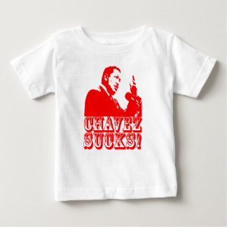 Hugo Chavez Sucks! Baby T-Shirt