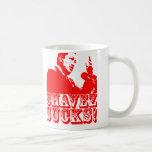 Hugo Chavez Sucks! Coffee Mug