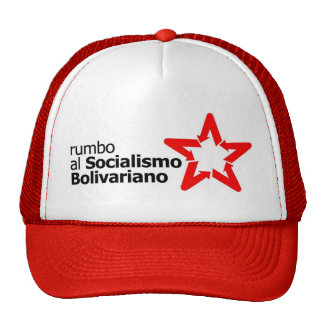 Hugo Chavez Venezuela Trucker Hat