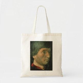 Hugo van der Goes- Portinari Triptych (detail) Canvas Bags