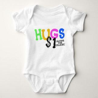 HUGS $1 (Saving for College) Baby Shirt