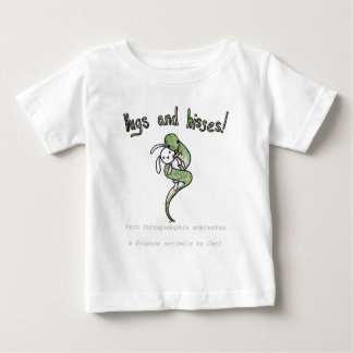 Hugs and Hisses from a four legged snake Baby T-Shirt
