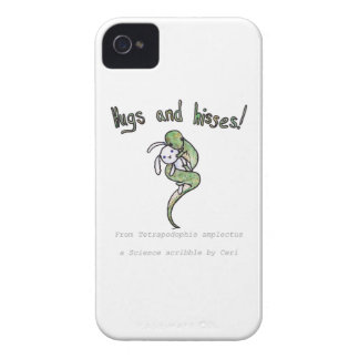 Hugs and Hisses from a four legged snake Case-Mate iPhone 4 Case