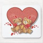 Hugs and Kisses Bears Mousepad