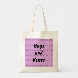 Hugs and Kisses Budget Tote Bag
