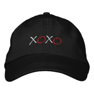 Hugs and Kisses Embroidered Hat