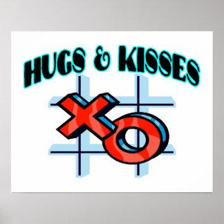 Hugs And Kisses XO Poster
