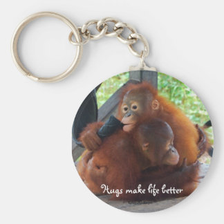 Hugs are Important Key Chain