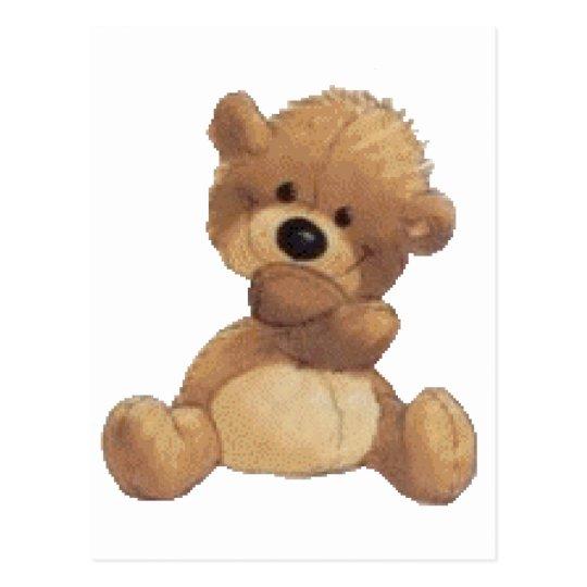Картинка анимация медвежонок