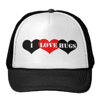 Hugs Heart Trucker Hat