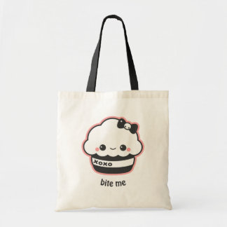 Hugs & Kisses Cupcake Tote Bag