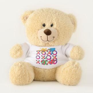 Hugs & Kisses Fresh Paint Edition Teddy Bear