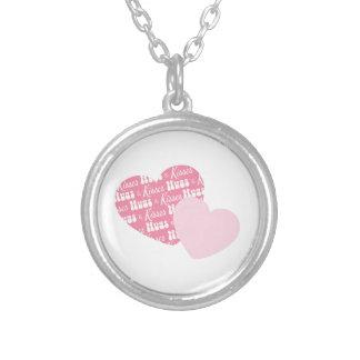 Hugs & Kisses Custom Necklace
