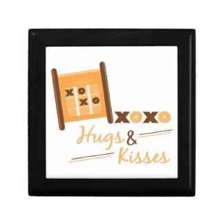Hugs & Kisses Small Square Gift Box