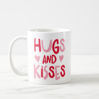 Hugs & Kisses | Valentine's Day Mug