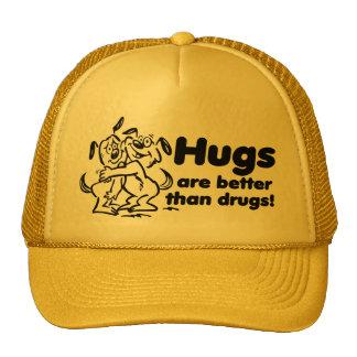 Hugs or Drugs Mesh Hat