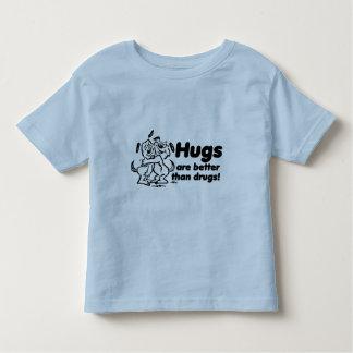 Hugs or Drugs? Toddler T-Shirt