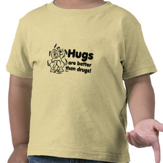Hugs or Drugs? T-shirts