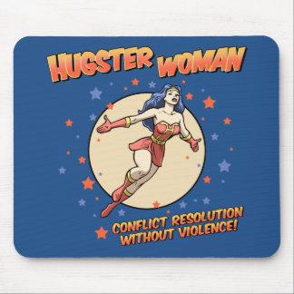 Hugster Woman Mouse Pad