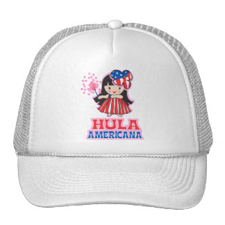 Hula Americana Trucker Hat