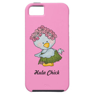 Hula Chick Blue Bird Beach Hula Dancer iPhone 5 Cover