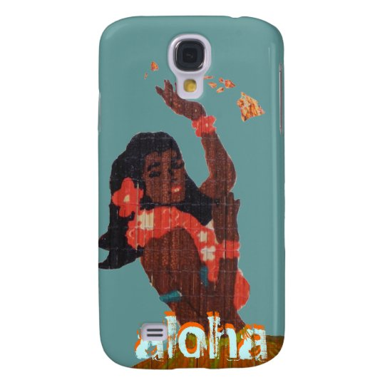 Hula Dancer Aloha by Island Map Galaxy S4 Case
