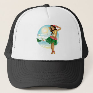 Hula Day Trucker Hat