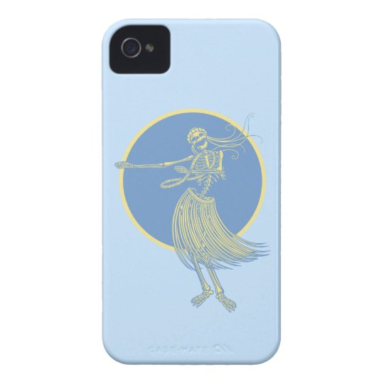Hula Death Luau iPhone 4 Cases