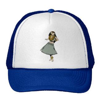 Hula Girl Cap