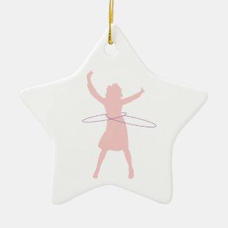 hula girl christmas ornament