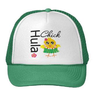 Hula Hawaii Chick Hats