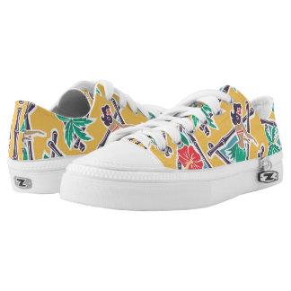 Hula Honey - Yellow - Low-Top Sneakers