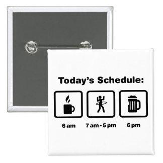 Hula Hoop 15 Cm Square Badge