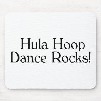 Hula Hoop Dance Rocks Mouse Pad
