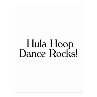 Hula Hoop Dance Rocks Postcard