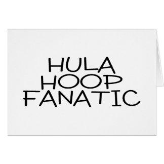 Hula Hoop Fanatic Greeting Card