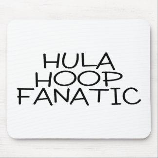 Hula Hoop Fanatic Mouse Pad