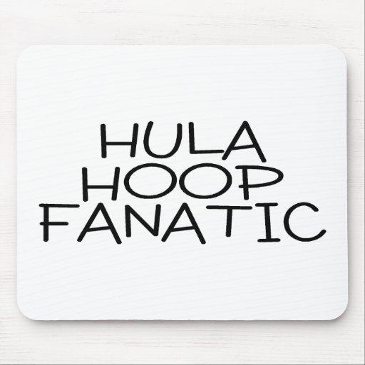 Hula Hoop Fanatic Mouse Pads