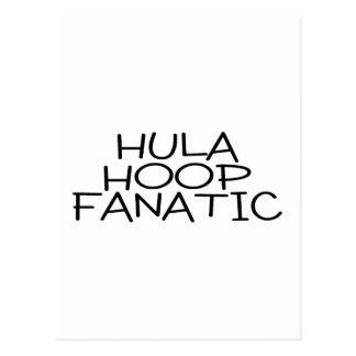 Hula Hoop Fanatic Postcard