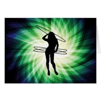 Hula Hoop Girl; Cool Card