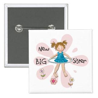 Hula Hoop New Big Sister Buttons
