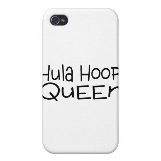 Hula Hoop Queen iPhone 4 Case