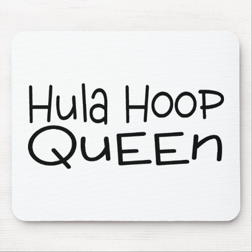 Hula Hoop Queen Mousepads