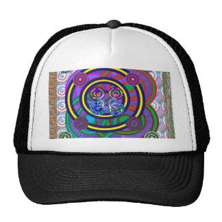 Hula Hoop Round Colorful Circles Cap
