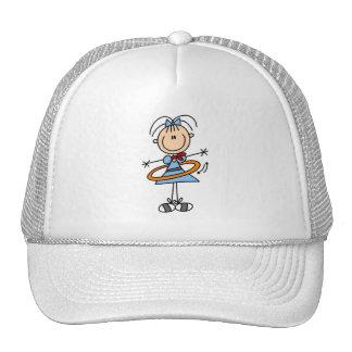 Hula Hoop Stick Figure T-shirts and Gifts Trucker Hats