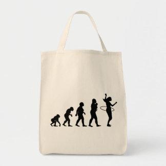 Hula Hoop Tote Bag