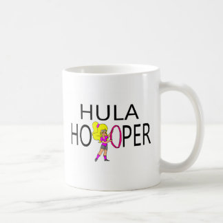Hula Hooper Girl Basic White Mug