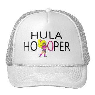 Hula Hooper Girl Mesh Hats