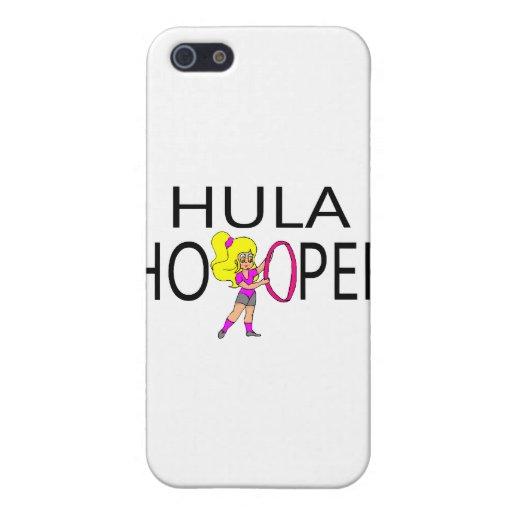 Hula Hooper Girl iPhone 5 Covers